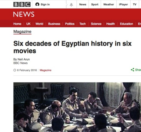 Egyptian history in six movies